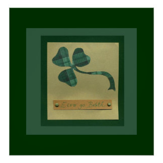 Saint Patrick's Day collage series #3 Poster
