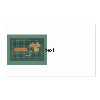 Saint Patrick's day collage series # 4 Business Card Template