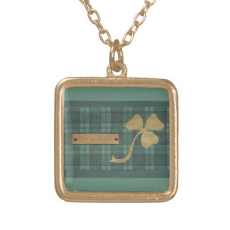 Saint Patrick's day collage series # 4 Necklace