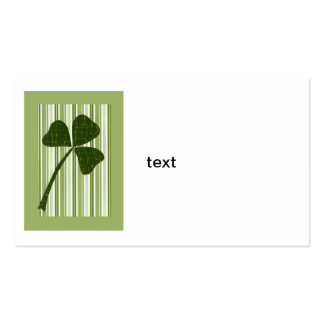 Saint Patrick's Day collage series # 5 Business Card