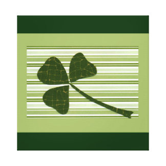 Saint Patrick's Day collage series # 5 Stretched Canvas Prints
