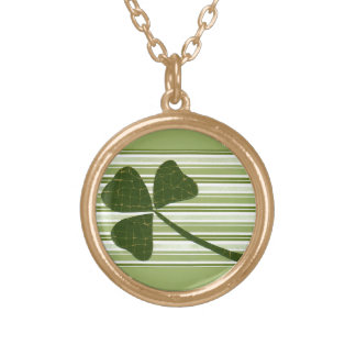 Saint Patrick's Day collage series # 5 Necklaces