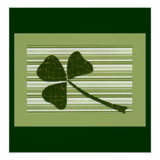 Saint Patrick's Day collage series # 5 Poster