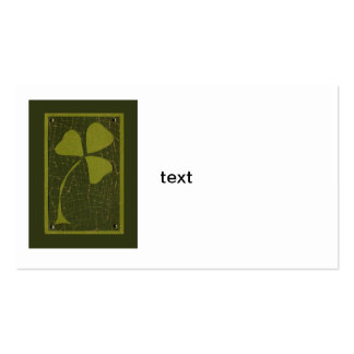 Saint Patrick's Day collage series # 6 Business Card