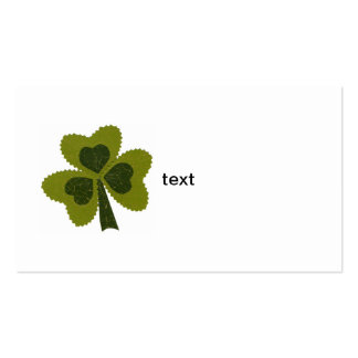 Saint Patrick's Day collage series # 8 Business Card Template