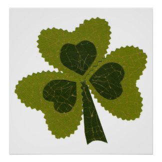 Saint Patrick's Day collage series # 8 Posters