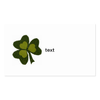 Saint Patrick's Day collage series # 9 Business Card