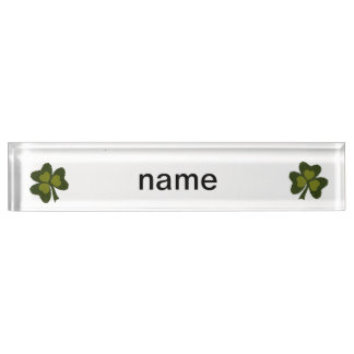 Saint Patrick's Day collage series # 9 Nameplate