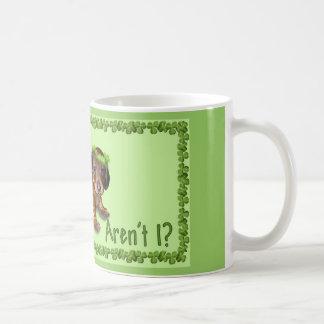 Saint Patrick's Day Dachshund Mug