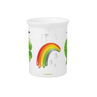 saint patricks day drink pitcher