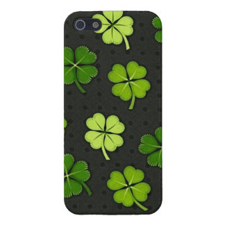 Saint Patrick's day four leaf clover iphone case
