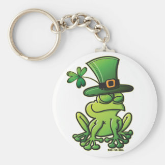 Saint Patrick's Day Frog Keychain