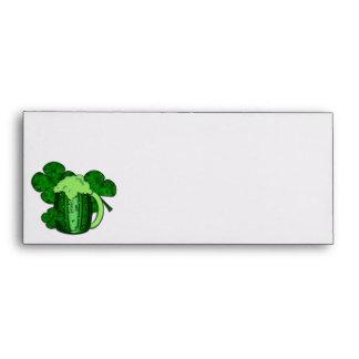 Saint Patrick's Day Green Beer Envelope