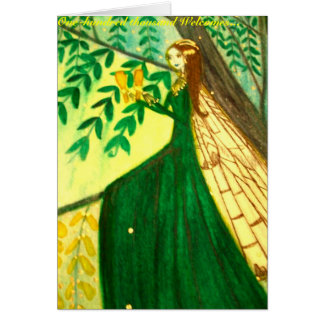 Saint Patrick's Day Greeting Stationery Note Card