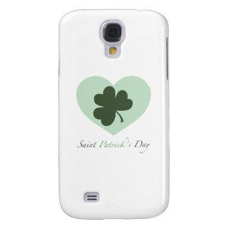 Saint Patrick's Day Heart Galaxy S4 Cover