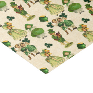 Saint Patrick's Day Holiday pattern party tissue Tissue Paper