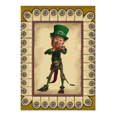Saint Patrick's Day Invitation at Zazzle