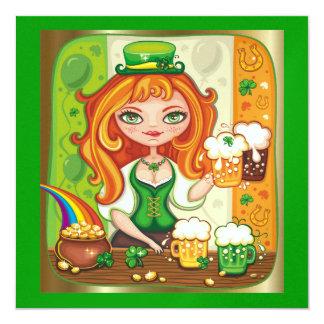 Saint Patrick's Day Invitation