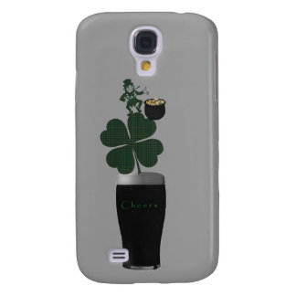 """Saint Patrick's Day Irish Ale"" phone case.* Galaxy S4 Cover"