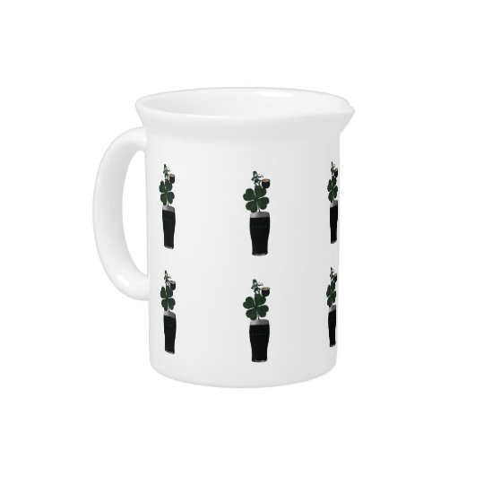 """Saint Patrick's Day Irish Ale""Pitcher.* Beverage Pitcher"