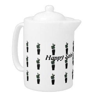 """Saint Patrick's Day Irish Ale""Teapot.*"