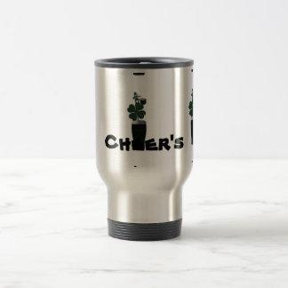 """""""Saint Patrick's Day Irish Ale""""travel mug.* Travel Mug"""