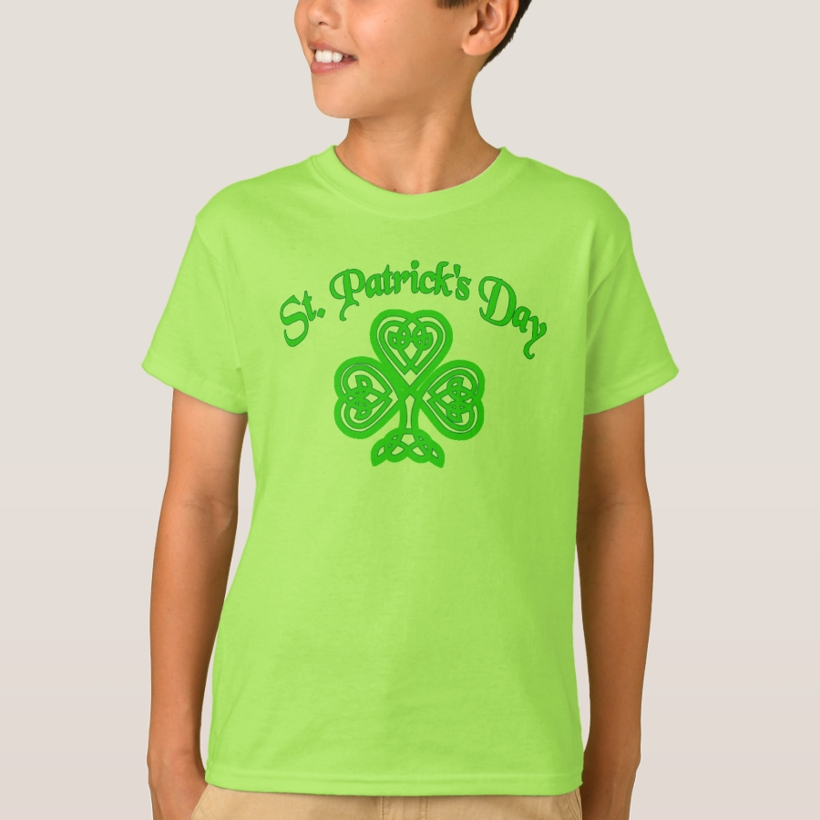 de82838bf Saint Patricks Day Irish Shamrock T-Shirt - Unique Comfortable And Fitted  Boys' And