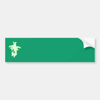 Saint Patrick's Day Leprechauns and Fester Equals Bumper Sticker