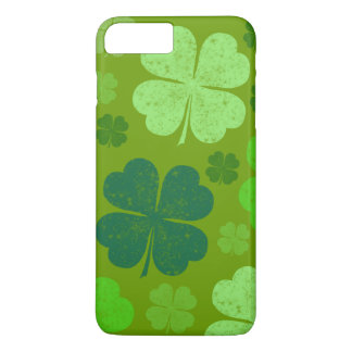 Saint Patrick's Day, Lucky Clovers - Green iPhone 8 Plus/7 Plus Case
