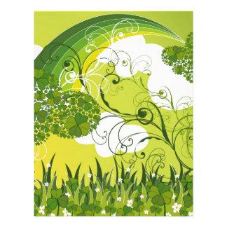 Saint Patrick's Day Lucky Clovers Shamrock Irish Flyer