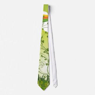 Saint Patrick's Day Lucky Clovers Shamrock Irish Neck Tie