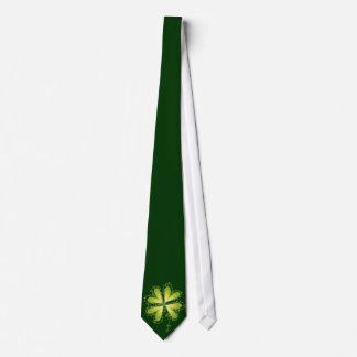 Saint Patrick's Day Lucky Clovers Shamrock Irish Tie