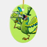 Saint Patrick's Day Macaw Ornaments
