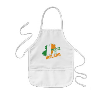 Saint Patrick's Day Made in Ireland T-Shirt Apron
