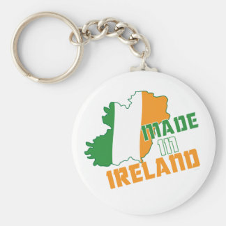 Saint Patrick's Day Made in Ireland T-Shirt Key Chains