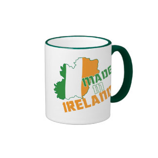 Saint Patrick's Day Made in Ireland T-Shirt Ringer Mug