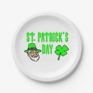 Saint Patricks Day Paper Plates