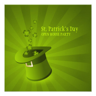 Saint Patrick's Day Party invitation