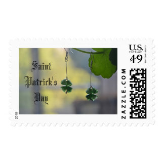 Saint Patrick's Day Postage Stamp