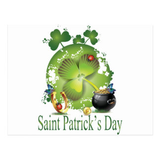 Saint Patrick's Day Postcard