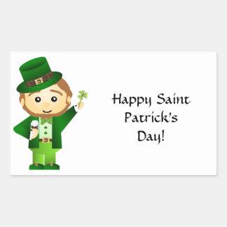 Saint Patrick's Day Rectangular Sticker
