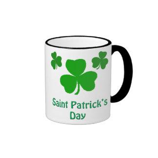 Saint Patrick's Day Ringer Mug