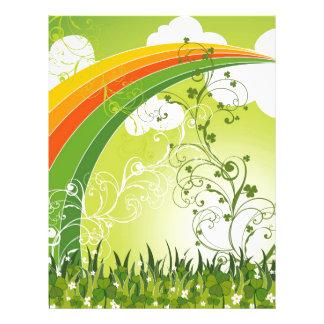 Saint Patrick's Day Shamrock Lucky Clovers Leaves Flyer