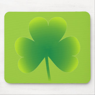 Saint Patrick's Day Shamrock Mouse Pad