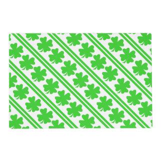 four leaf clover placemats zazzle