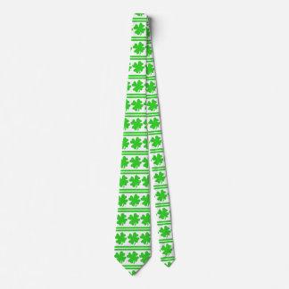 Saint Patricks Day Shamrocks Tie