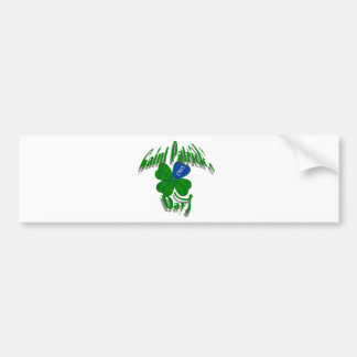 Saint Patrick's Day Since 1903 Car Bumper Sticker