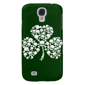 Saint Patricks Day Skulls Galaxy S4 Case