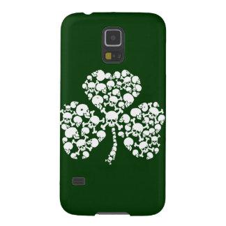 Saint Patricks Day Skulls Galaxy S5 Cover