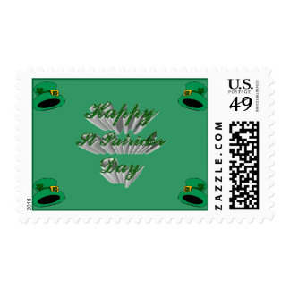 Saint Patrick's day - Stamps